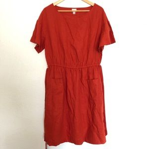A New Day short sleeve one piece mini dress